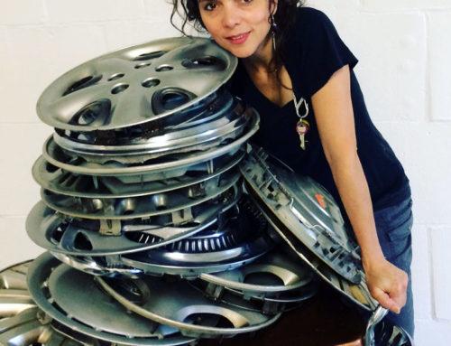 Donna Gentile: Hub Cap Artist