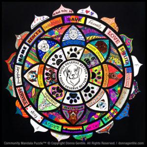 Community Mandala Puzzle