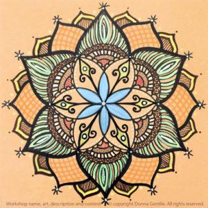 Seed of Life Nature Mandala – Donna Gentile