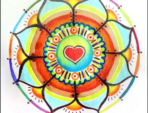 Water Healing Mandala