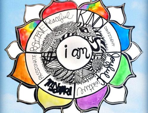 """""""I AM"""" Mandala for Self-Care & Empowerment"""